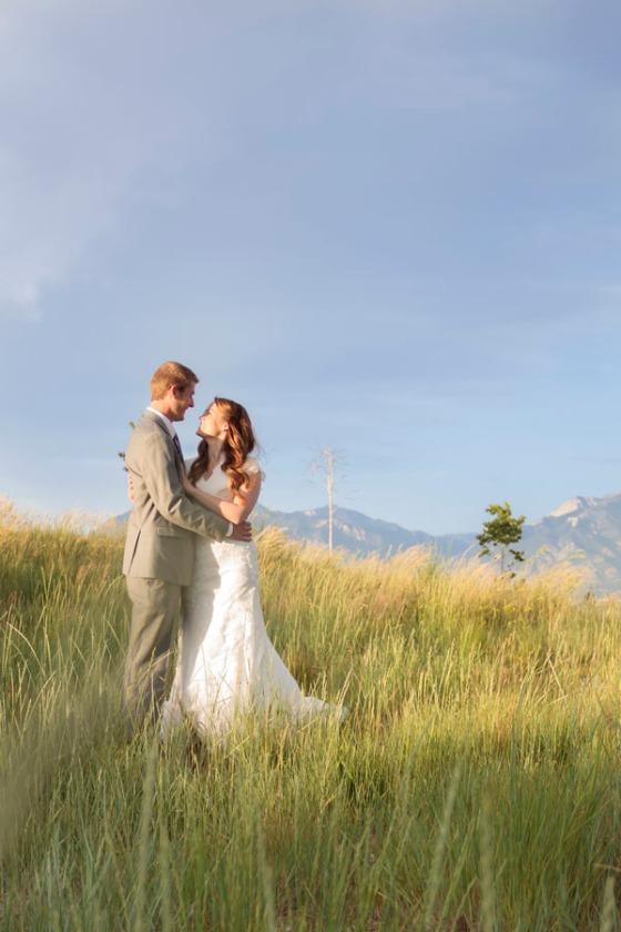 Field Wedding photo
