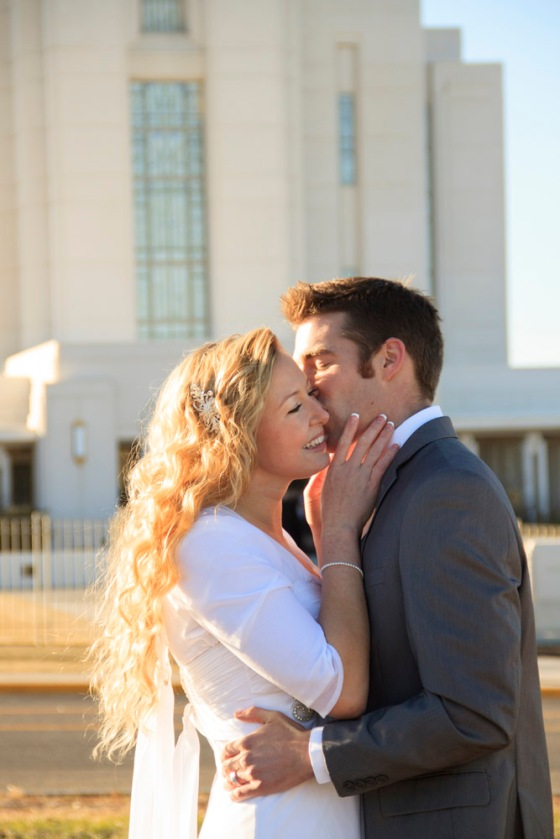 Rexburg temple wedding