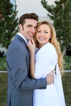 Rexburg temple wedding