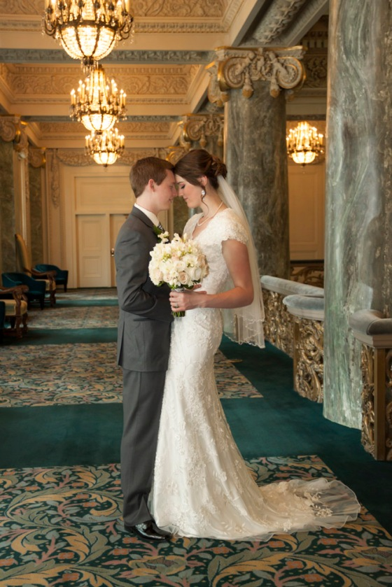 Joseph Smith Memorial Building wedding