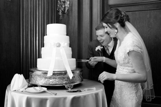 Joseph Smith Memorial Building wedding