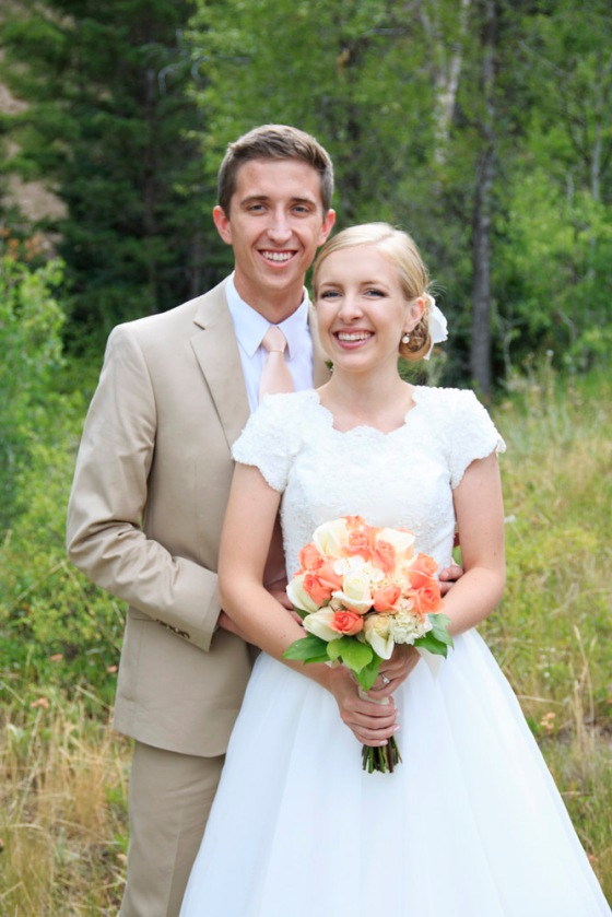 Tibble Fork Reservoir wedding photos