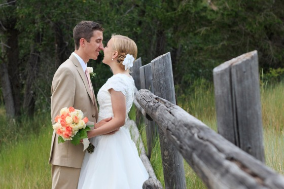 American Fork Canyon wedding