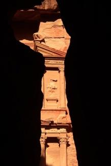 Treasury in Petra, Jordan