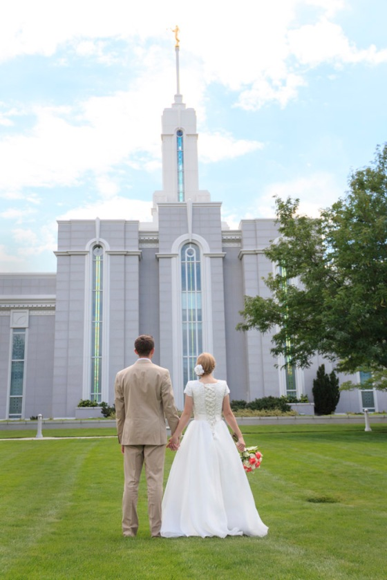 Mt. Timpanogos Temple Wedding