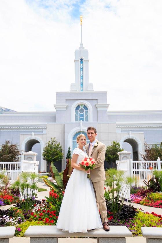 Mt. Timpanogos Temple Wedding