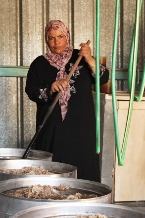 Israel fabric making