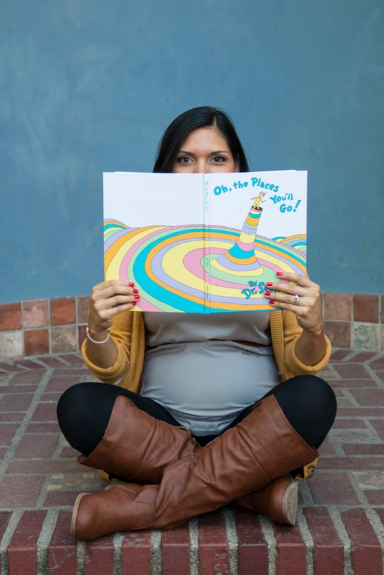 Dr. Suess Maternity Photos
