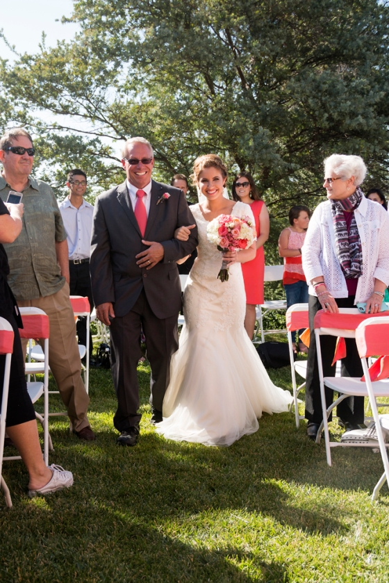 Outdoor ring ceremony