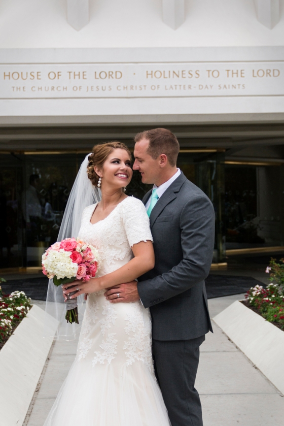 San Diego Temple Wedding