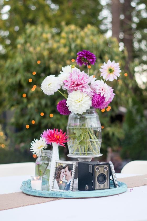 French wedding reception