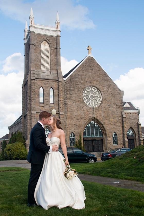 Saint Patrick's Church wedding