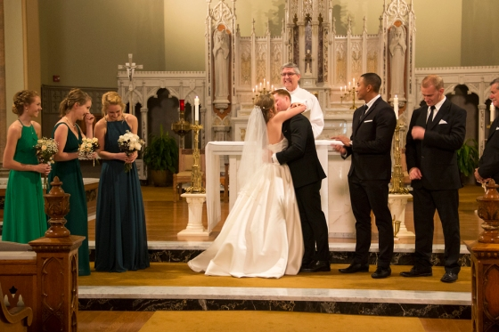 Saint Patrick's Church wedding