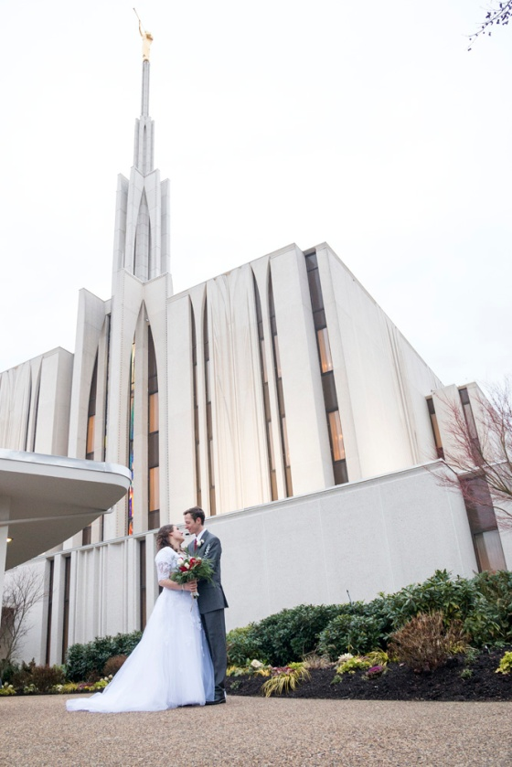 Seattle Temple Wedding