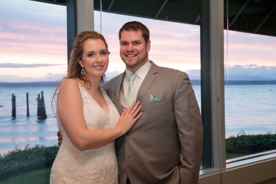 Ballard Bay Club Seattle Wedding
