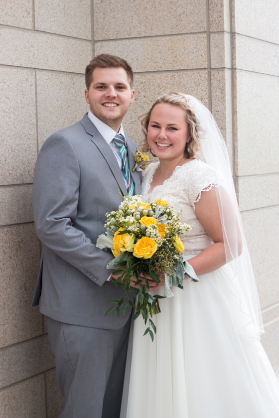 Oquirrh Mountain Temple Wedding
