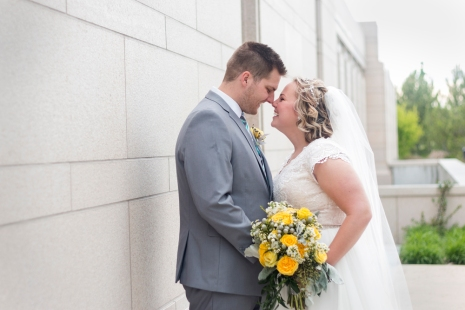 Oquirrh Mountain Temple Wedding