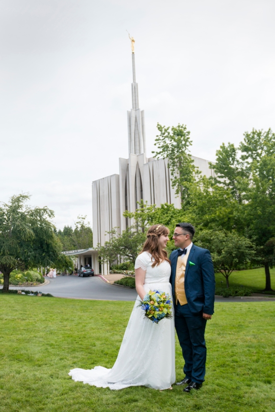 Seattle Temple Wedding Photography